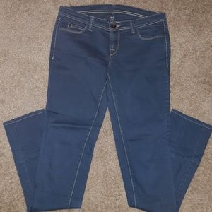 Woman blue jean